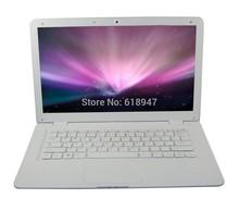 "free shipping  13.3 "" windows laptop intel Atom D2600 Dual Core 2GB 500GB Webcam netbook laptops"