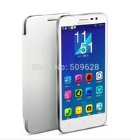 SALE !!! Original Lenovo A8 A808T smart flip cover leather case protector free shipping black white