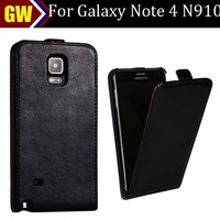 Free Shipping For Samsung Galaxy Note 4 N910 Vintage Vertical Flip PU Leather Case,50pcs/lot