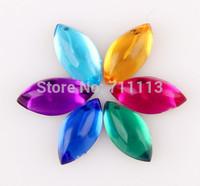 4*8MM Acrly stones Rhinestones popular diamond fit cloths colour stones water-drop DIY accessories 300pcs/lot Free shipping