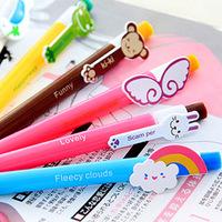 B5  office supplies Stationery wholesale cute cartoon rainbow wings ball point pen cute pen school supplies