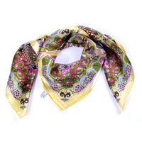 Women's Quality silk Scarf, Winter Square Scarves & Wraps,90 x 90CM ,Birthday Gifts