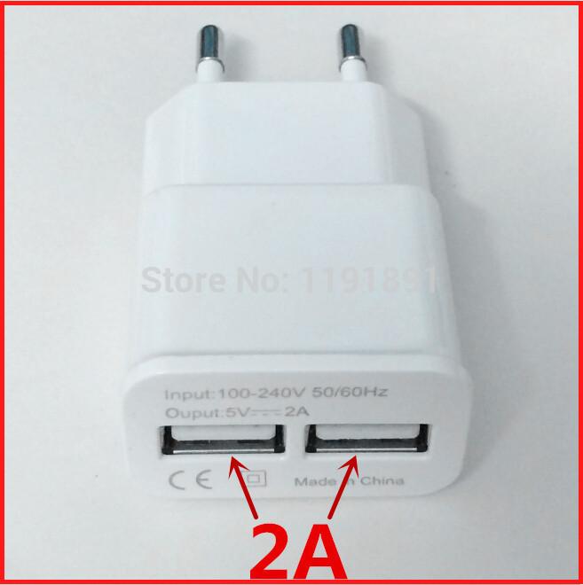 2015 NEW Universal 5V 2A Dual 2 port USB EU Plug Fast Wall Charger For iPhone 5 5S 6 PLUS iPad Mini SAMSUNG Note4 HTC Nexus 4(China (Mainland))