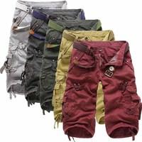 New 2014 men's beach Bermuda surf shorts Pyrex brand clothing boxer shorts Cargo Casual Shorts Free Shipping 29-38