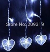 Christmas Heart string lights  Christmas tree  6*4*3*2 meter * 0.6