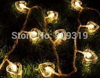 Christmas heart string lights  Christmas tree  25 meters