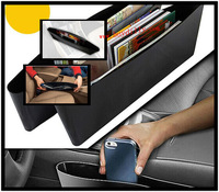 48Pcs/lot Car Seat Pocket Catcher Organizer Store(2pcs=1packs) J03
