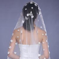 Wedding accessoriesnew arrival luxury fashion bride veil  d