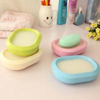 X167 creative elegant fragrance double cassette absorbent sponge soap aerobic fashion soapbox