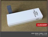 Japan grindstone Japanese  rubstone 4000-8000# double face polishing waterstone  whetstone 180*60*30mm 680g