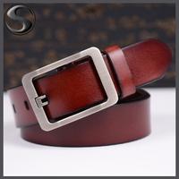 New Fashion Brand Man Belts Brand Leather Genuine Waist Belts for Mens Luxury Designer Pin Buckles Cowboys Hip Strap