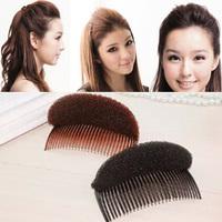 1PCS Women Fashion Hair Styling Clip Stick Bun Maker Braid Foam Tool Hair Accessories Free Shipping