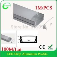Hanks aluminium corner led profile Aluminium Extrusion Profile for Corner 100M/Lot