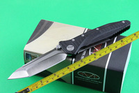 Wild Boar Microtech SOCOM D2 TANTO Blade Folding knife DELTA Force TC4 Titanium Alloy+Black G10 Handle Pocket  Knife