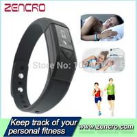 Bluetooth 4.0 Fitness Tracker Sleep Monitor Smart Band Bracelet Similar Fitbit Flex Wristband Pedometer