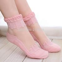 2014 Spring and autumn Brand women neon socks pile of pile of socks vintage knee-high socks 1 lot =12pcs =6pairs free shipping