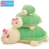 Pernycess 1pcs 50cm Large turtle pillow plush toy doll cute cartoon cushion