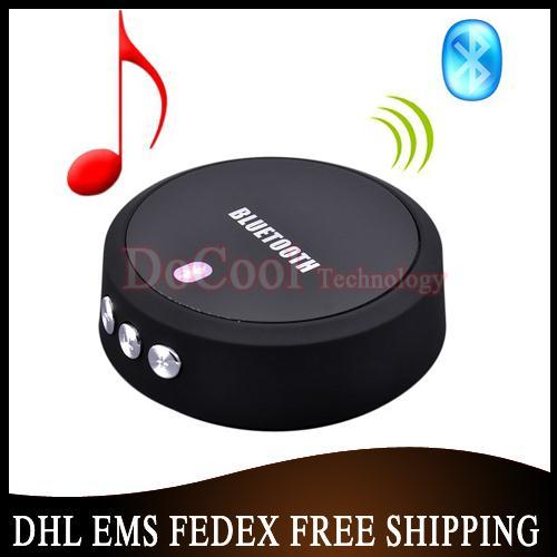 Free DHL EMS 20pcs/lot Portable Mini Audio Receiver Partner For Apple Bluetooth 4.0+EDR NFC Music Mic(China (Mainland))