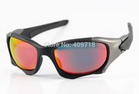 New Style High Quality Brand Metal Sunglass Men/Women's Designer Pitboss II OO9137-01 Black Sunglass Fire Iridium Lens Polarized