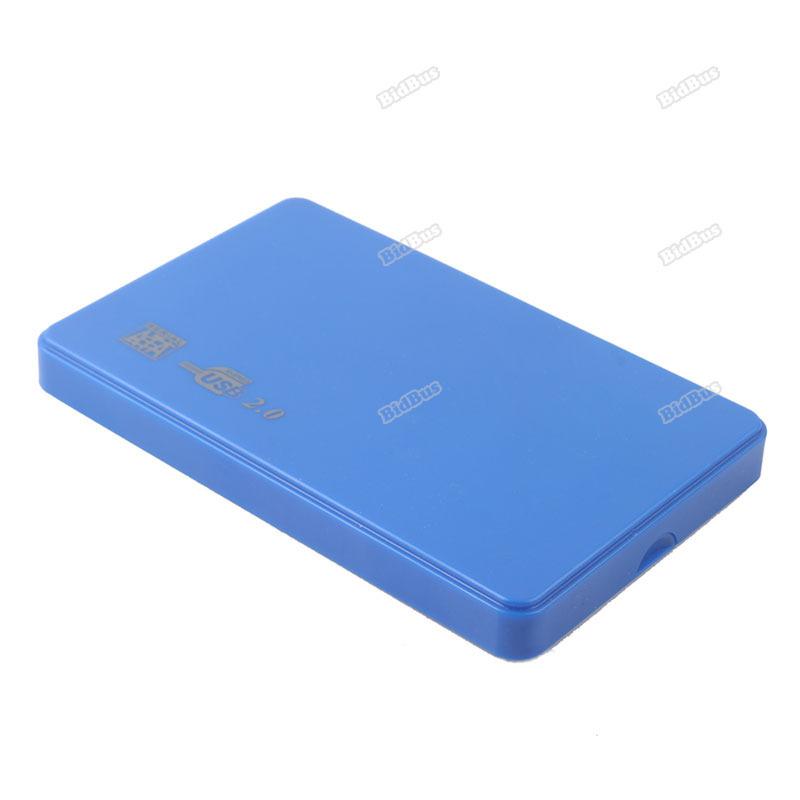 bidbus Useful! Ultra Slim USB2.0 2.5 SATA Hard Disk Driver HDD External Box Case Enclosure #18 Effectively!(China (Mainland))