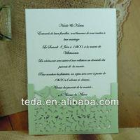 Hot sale! Love bird invitation card for wedding