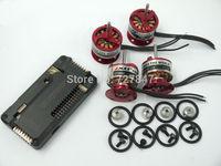 4 x EMAX CF2822 1200KV Brushless Motor + 1x APM2.6 Flight Controller Board