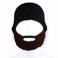 Men's Knitted beard hat Face Mask Balaclava winter hats