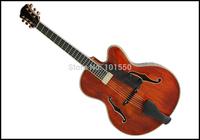 16inch solid wood arch top jazz Yunzhi guitar