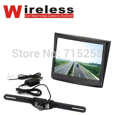 3.5inches TFT LCD Screen Monitor Wireless Car Rear View Camera Kit CCTV Surveillance Car Camera(China (Mainland))