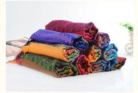 5PCS / LOT free shipping bohemian national wind shawl / scarf autumn and winter trade