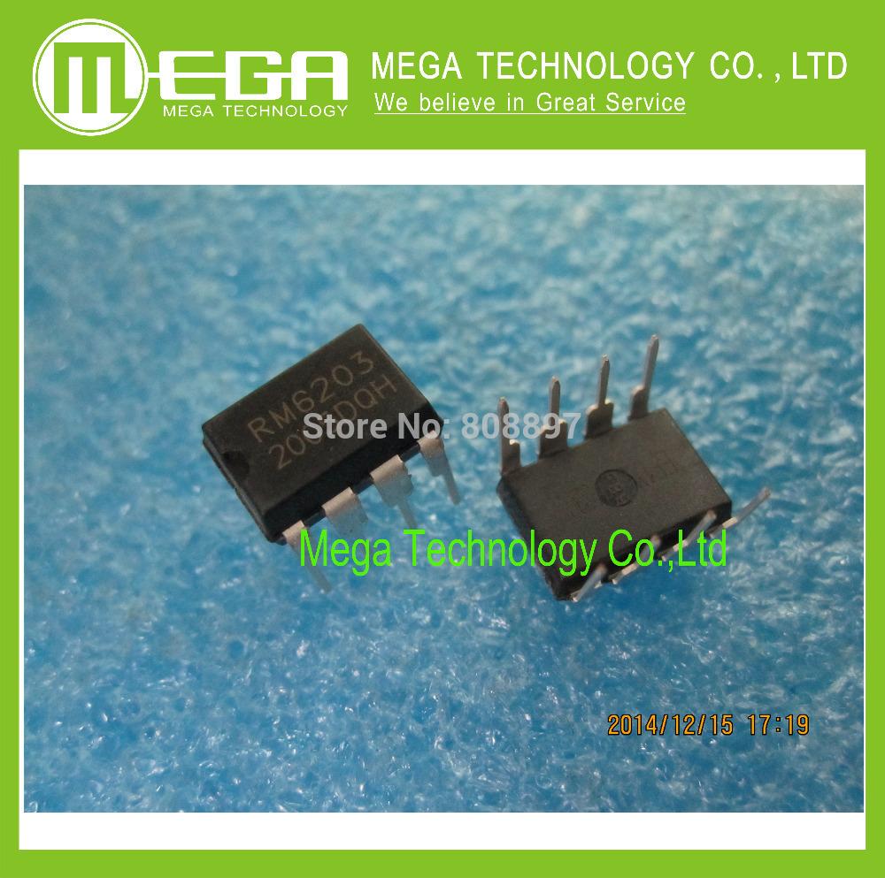 Бесплатная Доставка 100 ШТ. RM6203 DIP8 чип управления Питанием новый 100 шт 100% новый bq4802ydw bq4802lydw