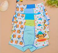 3-16 Years Wholesale children's winter clothing cartoon bamboo fiber student kids boys boxer underwear boxer briefs
