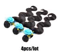 unprocessed virgin peruvian hair body wave 4 pcs lot, queen human hair weaving cheap peruvian remy wavy hair