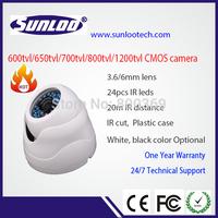 Promoting camera CMOS 900tvl plastic dome camera with IR cut