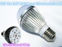 10pcs DC 12V 5w  LED light SMD LED energy saving light bulbs , Sharp chips, free ship *