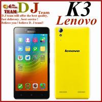 "Original Lenovo K30-T K3 Qualcomm MSM8916 Quad Core 5.0""Android 4.4 1GB RAM 16GB ROM 8.0MP Camera Support 4G TD-LTE Smartphone"