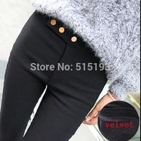 Winter New Thick Faux Velvet Pencil Pants Warm Leggings Fashion Women's Legging Knitted Thick Slim Leggings super elastic