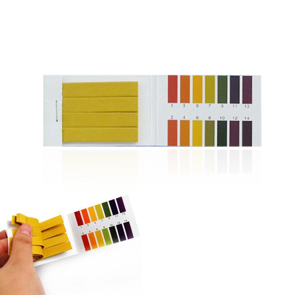 New Arrive 2 Packs Practical Full Range 1-14 PH Universal Test Paper Strips For chemical experiment(China (Mainland))