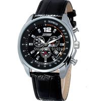 Free shipping 2015 fashion casual  Multifunction Waterproof watch Neutral Quartz Wristwatches 3 colors