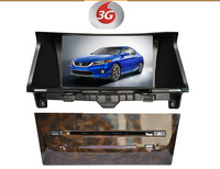 Factory wholesales:car dvd gps for HONDA Accord 2008 (USA) +3G+rds+ freemap+A2DP+ STEERING WHEEL CONTROL+BLUETOOTH