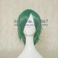 Carve Dark Green Cosplay Wig Inspired by HitmanReborn Fran