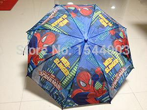 New Cartoon Spiderman Paraguas Children Umbrella Fashion Dual Floding Umbrella Kids Rainy and Sunny Umbrellas Cheap Top Quality(China (Mainland))