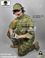 EMERSON CP R6 Perfect Version Combat Anti-scrape Outdoor Military Army Tactical Combat BDU  Suit&Pants Uniform Grid Cloth BD6889