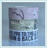 700 Patterns colorful printing washi, Lovely tape, Decoration tape, japanese washi tape wholesale