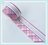 1.5cm 10m 10rolls diy paper tape mt paper tape DIY decoration photo frame decoration material
