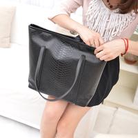 2014 autumn and winter fashion women's fashion handbag serpentine pattern bag casual one shoulder handbag