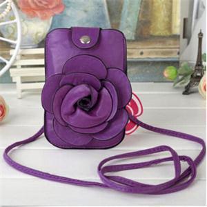 BA Fashion Women Lady Messenger Bags Cute Flower Decoration Key Bag Cross Body Bag Women AB(China (Mainland))