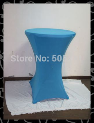 hot sales free shipping 10pcs 70*110CM high quality spandex table cover - cocktail table cover - lycra table cover 5#(China (Mainland))