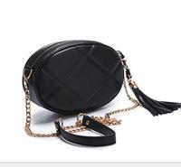 Classic Lingge Chain Shoulder Bag Messenger Bag Korean Female Small Bag Fashion Woman Handbag