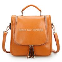 2015 NEW arrival genuine leather shoulder bag hand bag backpack
